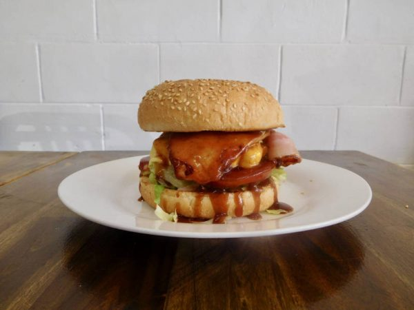 Chicken and Bacon Burger