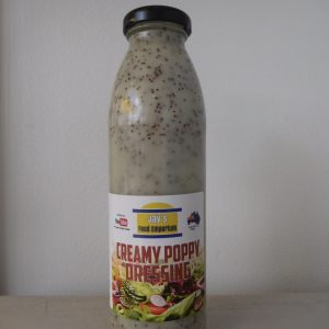 Creamy Poppy Dressing