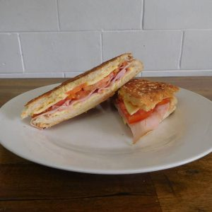 Ham & Cheese Tomato Sandwich