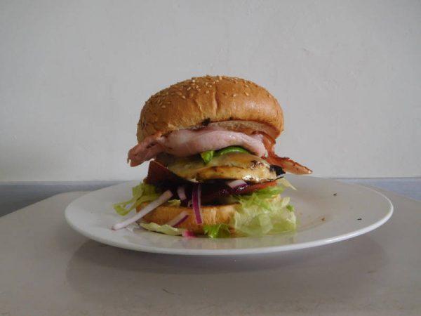 Tropical Chicken Burger